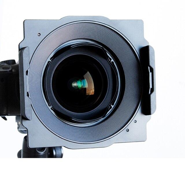 Wyatt Metal 150mm kwadratowy uchwyt filtra uchwyt do Tokina 16 28mm, Samyang 14mm, Canon 17mm/14mm, Sigma 12 24mm, Yongnuo 14mm obiektyw