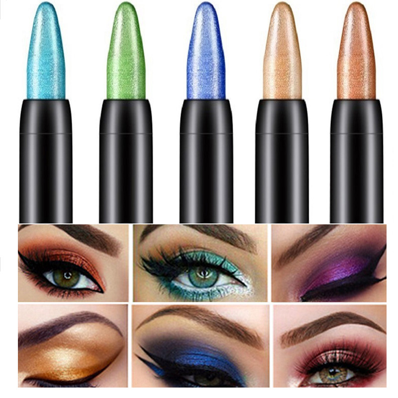 Fashion Hot High Quality Eye Shadow Pen Beauty Highlighter Eyeshadow Pencil 116 Mm Wholesale Eye Pencil Beauty Cosmetics Tool