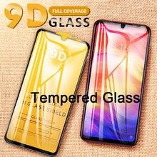 9d cobertura protetor de tela para redmi go s2 y2 y3 cobertura completa vidro temperado para redmi 4x 5a 6a 5 plus 6 pro 7 toda a cola
