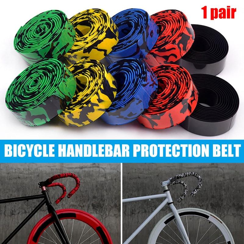 Bike Handlebar Tape Red Bicycle Bike Road Drop Bar Anti-Slip Shock Absorb NEW
