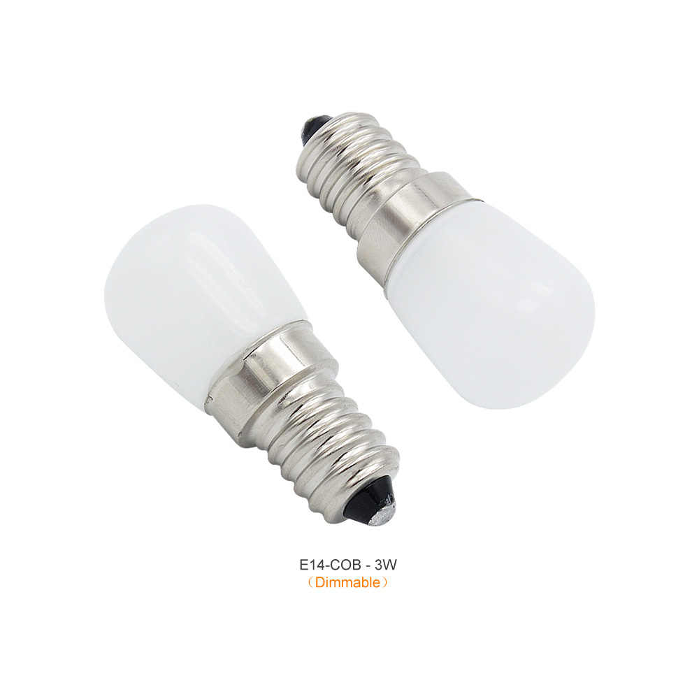 1pcs AC 220V 6W 8W light Spotlight Light E14 LED Mini Lamp 2W 3W 4W Bulbs Freezer Fridge Chandelier COB Glass