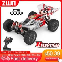 Wltoys 144001 A959 959B 2.4G Racing Rc Auto 70 Km/h 4WD Elektrische Hoge Snelheid Auto Off-Road Drift afstandsbediening Speelgoed Voor Kinderen