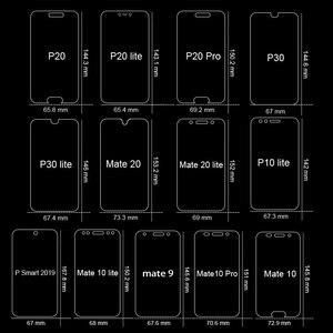 Полное покрытие из закаленного стекла для Huawei P30 P20 P10 lite Pro P Smart 2019 Защитное стекло для экрана для Huawei Mate 10 20 lite pro 9