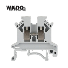 цена на 10pcs UK-2.5B Universal Panel Mount Phoenix Contact Screw Terminal Block UK 2.5B Universal Din Rail Connector Conductor UK2.5