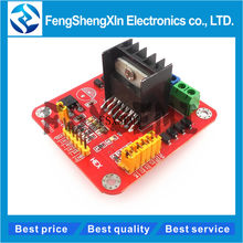 1pcs L298 โมดูล L298N Dual Bridge DC Stepper Motor Shield ขยายสำหรับ arduino DIY Kit(China)