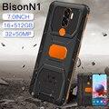 2021 новый бренд Bison N1 глобальная версия 7,0 дюймовый смартфон Deca Core, размер экрана 6800 мА/ч, 16 + 512 Dual SIM полный Экран 4G 5G Android мобильный телефон