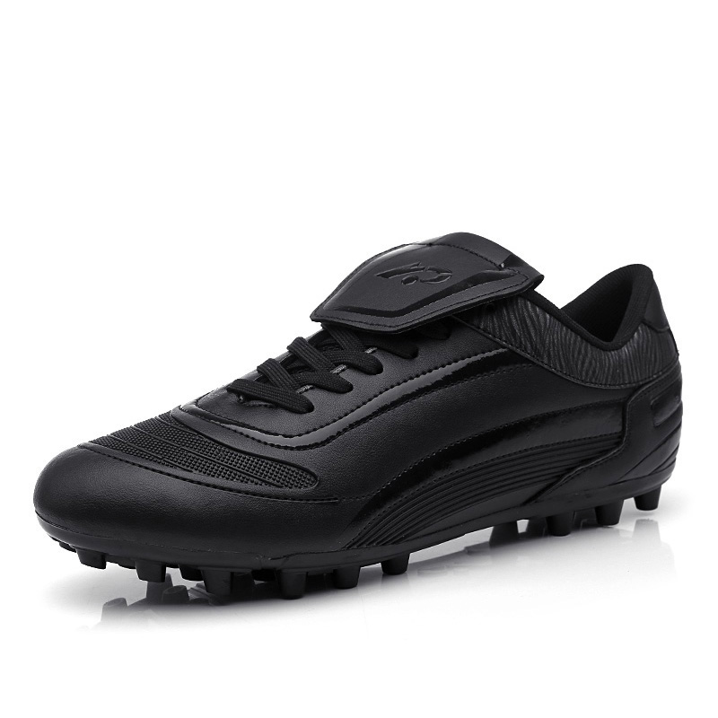 Men Boys Ankle High Top <font><b>Football</b></font> Boots Long Spikes TF Soccer Cleats Training Sneakers <font><b>Kids</b></font> <font><b>Indoor</b></font> Turf AG FG Futsal image