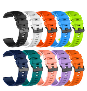 22mm Sport Silicone Band for Huawei Watch GT GT 2 46mm Wrist Strap Bracelet for Samsung Galaxy Watch 46mm Gear S3 Huami GTR 47mm