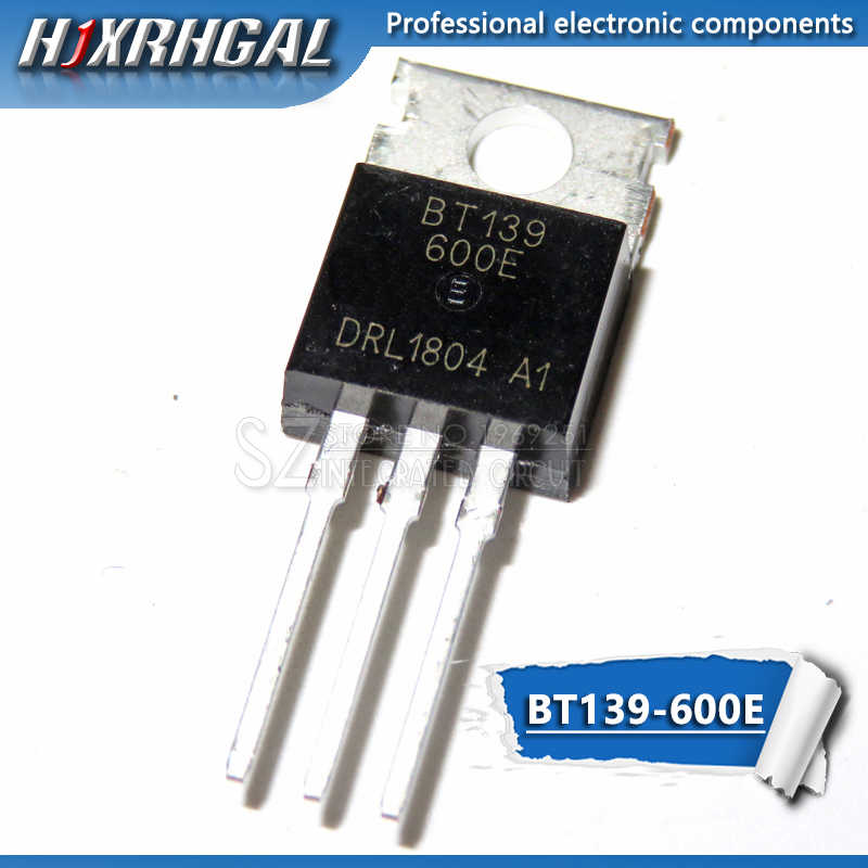 1PCS BT139-600E TO-220 BT139-600 TO220 BT139 new and  original IC
