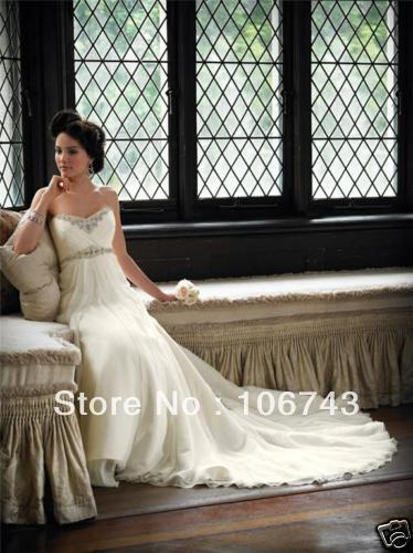 Free Shipping 2018 New Style Hot Sale Sexy Brides Sweetheart Princess Crystal Appliques Custom Bridal Gown Bridesmaid Dresses
