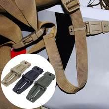 Accessoires de sac à dos, 1 pièce, système Molly, boucle Molle, boucle de connexion Clip, sac à dos, boucle fixe, outils d'extérieur