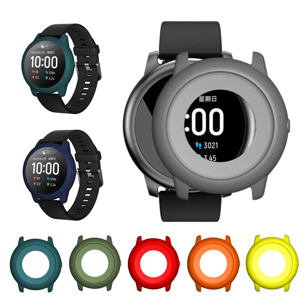 Чехол для Haylou Solar LS05 Смарт-часы ТПУ силиконовый защитный каркас мягкий защитный чехол для Xiaomi Haylou Солнечный браслет