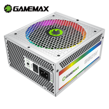 Power-Supply Fully-Modular Gamemax 80-Plus PC Computer Gold 850W White RGB Ce Light-Vairous
