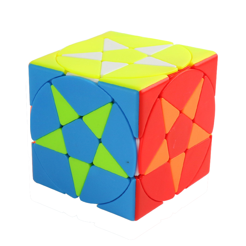 Pentagram Stars Profissional Magic Cube Competition Speed Puzzle Cubes Toys For Children Kids Cube Game-specific 6 Colors image