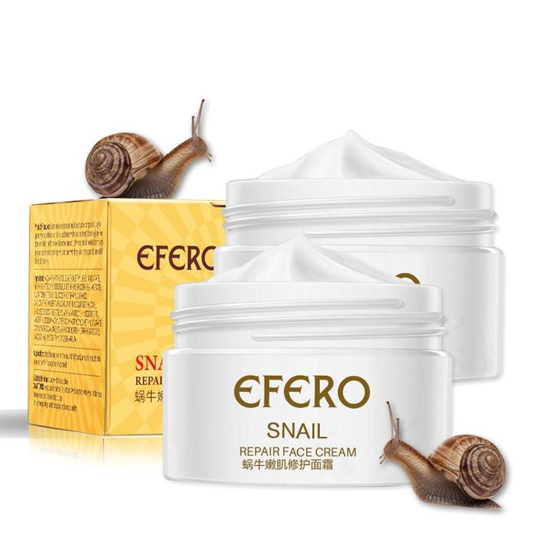 Snail Cream Moisturizing Face Cream Snail Repair Anti Aging Face Whitening Cream Wrinkles Remove Firming Skin Care Hot