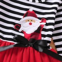 Baby Girl Dress Christmas Long Sleeve 18M-5Y