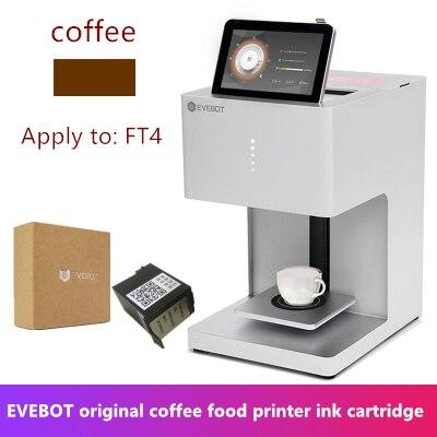 EVBTO Original Factory Coffee Beer Milk Tea Food Printer Monochrome Edible Ink Cartridge  Ink Three Color Optional
