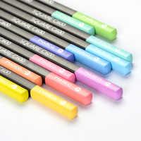 Andstal Marco 12/24 colores Pastel no tóxico Color de lápiz de Color lapislázuli de CDR profesional lápices de colores para la escuela suministros