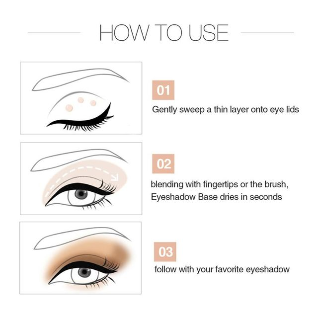 Women Glitter Primer Base Foundation Glue Eye Shadow Glue Face Makeup Cosmetic 1