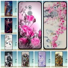 Fashion For Huawei Enjoy 6s/Honor 6C/Nova Smart Cases Soft Silicon Luxury 3D Painting Pattern Cartoon Flower Phone Case Cover