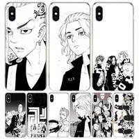 Tokyo Revengers Anime Abdeckung Telefon Fall Für Iphone 12 11 Pro 7 6X8 6S Plus XS MAX + XR 5S SE 10 9 Kunst TPU Coque Capa Shell