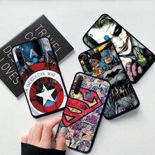 Case For Redmi Note 8 8Pro 8T Marvel Cap