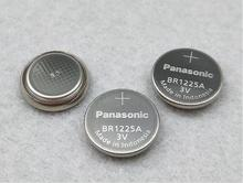 20pcs/lot Panasonic BR1225A BR1225 1225 3V Wide temperature Button Lithium Battery/High Temperature Batteries 20pcs lot panasonic 3v br2032 battery br 2032 high temperature button coin batteries cell