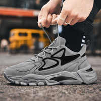 New Brand Krasovki Men's Casual Shoes Male Sneakers Breathable Lace-up Man Footwears Chaussure Homme Comfortable Outdoor Shoes