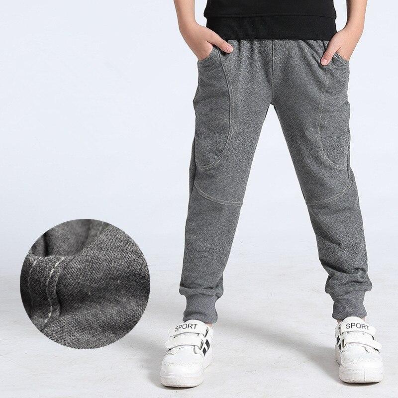 VIDMID Kids Pants 6-14years Boys Casual plaid Pants Kids Clothing Cotton Boys Long Trousers Children Boys Clothing pants 4102 34 5