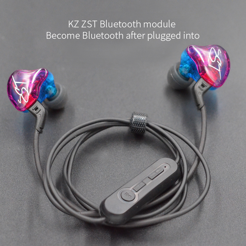 <font><b>KZ</b></font> Bluetooth 4,2 Wireless Upgrade Modul Kabel Abnehmbarem Kabel Gilt <font><b>KZ</b></font> Original Kopfhörer ZST/ZS3/<font><b>ZS5</b></font>/AS10 /ZS6/ZS10/ZSA/ES4 image