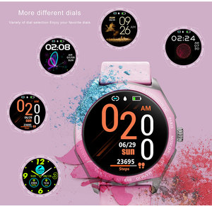 Image 3 - Fashion Women Smart Watch Waterproof Heart Rate Blood Pressure Monitor Smartwatch Gift For Ladies Watch Bracelet Full Touch