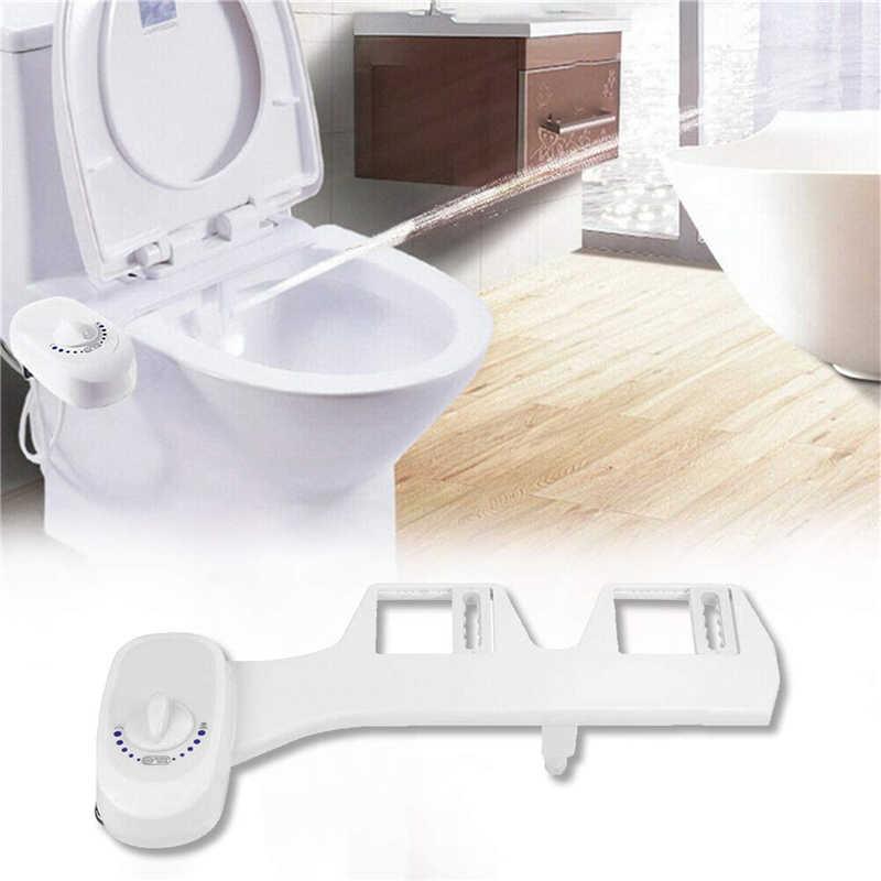 Adjustable Fresh Water NonElectric Mechanical Bidet Toilet Seat Spray Attachment