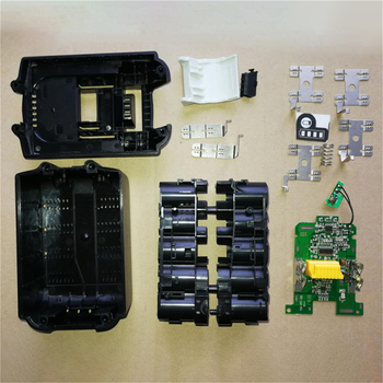 Battery Case Shell Charging Protection PCB Circuit Board Kit for MAKITA 18V BL1830 3.0Ah 5.0Ah BL1840 BL1850 Li-ion Battery Part 18v battery chip pcb board replacement for makita bl1830 bl1840 bl1850 lxt400 tn99