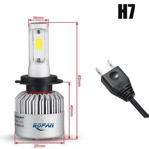 Image 4 - 2Pcs H4 LED H7 H11 H8 HB4 H1 H3 9005 HB3 S2 Auto Scheinwerfer Lampen 32W 12000LM Auto zubehör 6500K 4300K 8000K led nebel licht