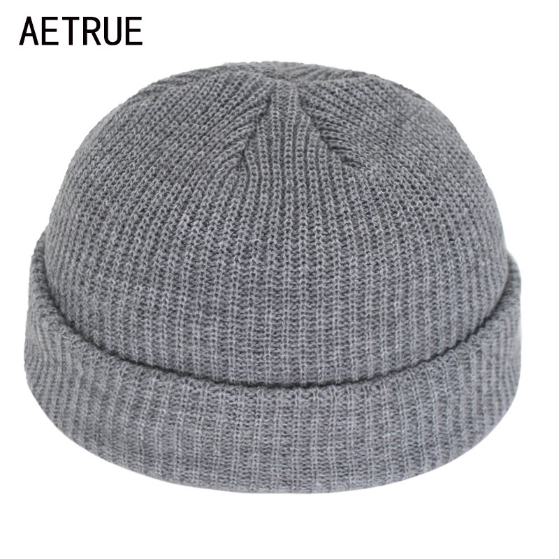 Short Skullies Beanies Men Winter Beanie Hat Women Winter Hats For Men Caps Miki Docker Skullcap Bonnet Women Knitted Hat Cap