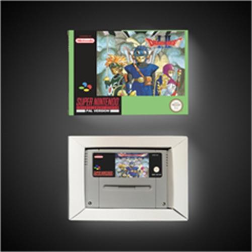 Dragon quest i & ii bateria de cartão de jogo rpg versão eur salvar com caixa de varejo