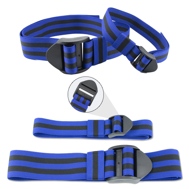 BFR Fitness Occlusion Bands Weight Bodybuilding Blood Flow Restriction Bands Arm Leg Wraps Fast Muscle Growth Gym Equipment 2