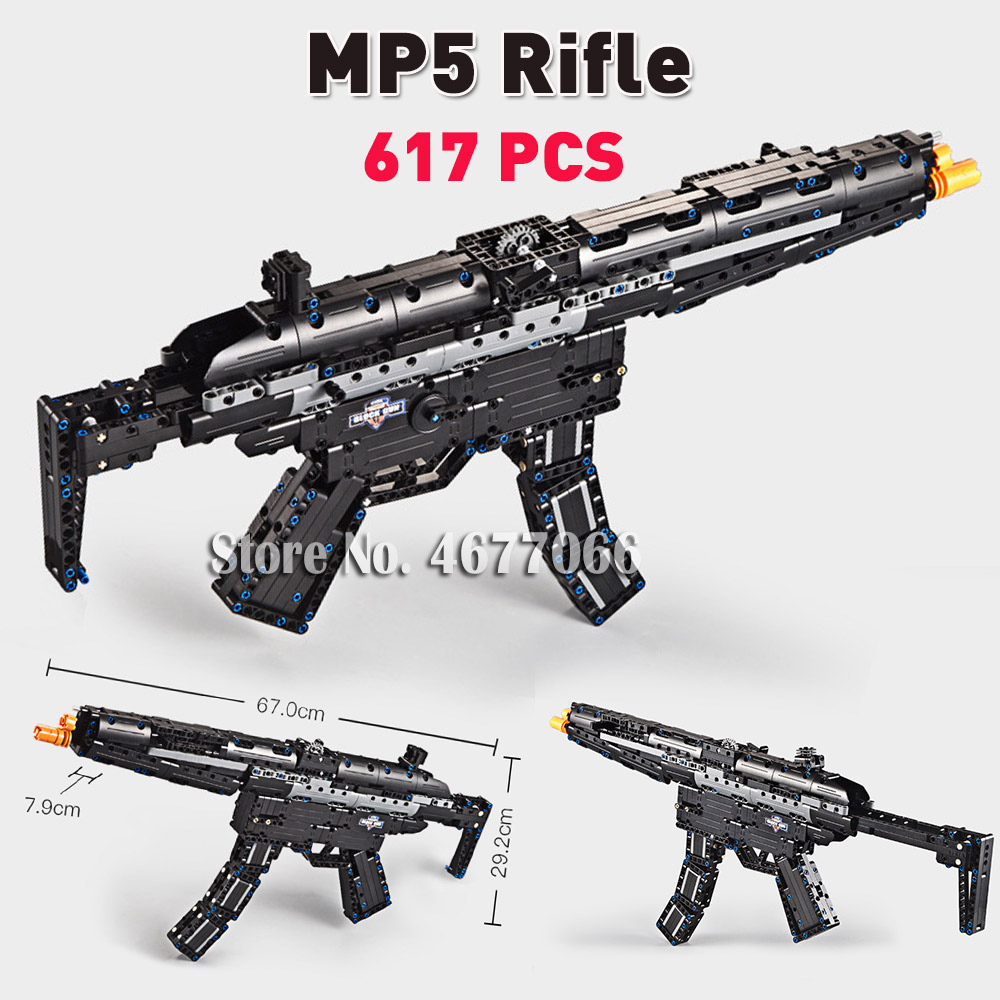 MP5 Rifle - 617 PCS