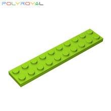 Blocos de construção acessórios diy 2x10 placa base técnica peças 10 pçs moc criatividade brinquedo educativo para crianças presente 3832