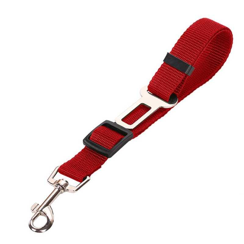 حزام أمان السيارة للحيوانات الاليفة قابل للسحب الكلب اليد عقد حبل سيارة شنت الكلب الجر حبل سيارة سلسلة الكلاب