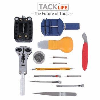цена на TACKLIFE 144Pcs Watch Tools Watch Opener Remover Spring Bar Repair Pry Screwdriver Clock Watch Repair Tool Kit Watchmaker Tools