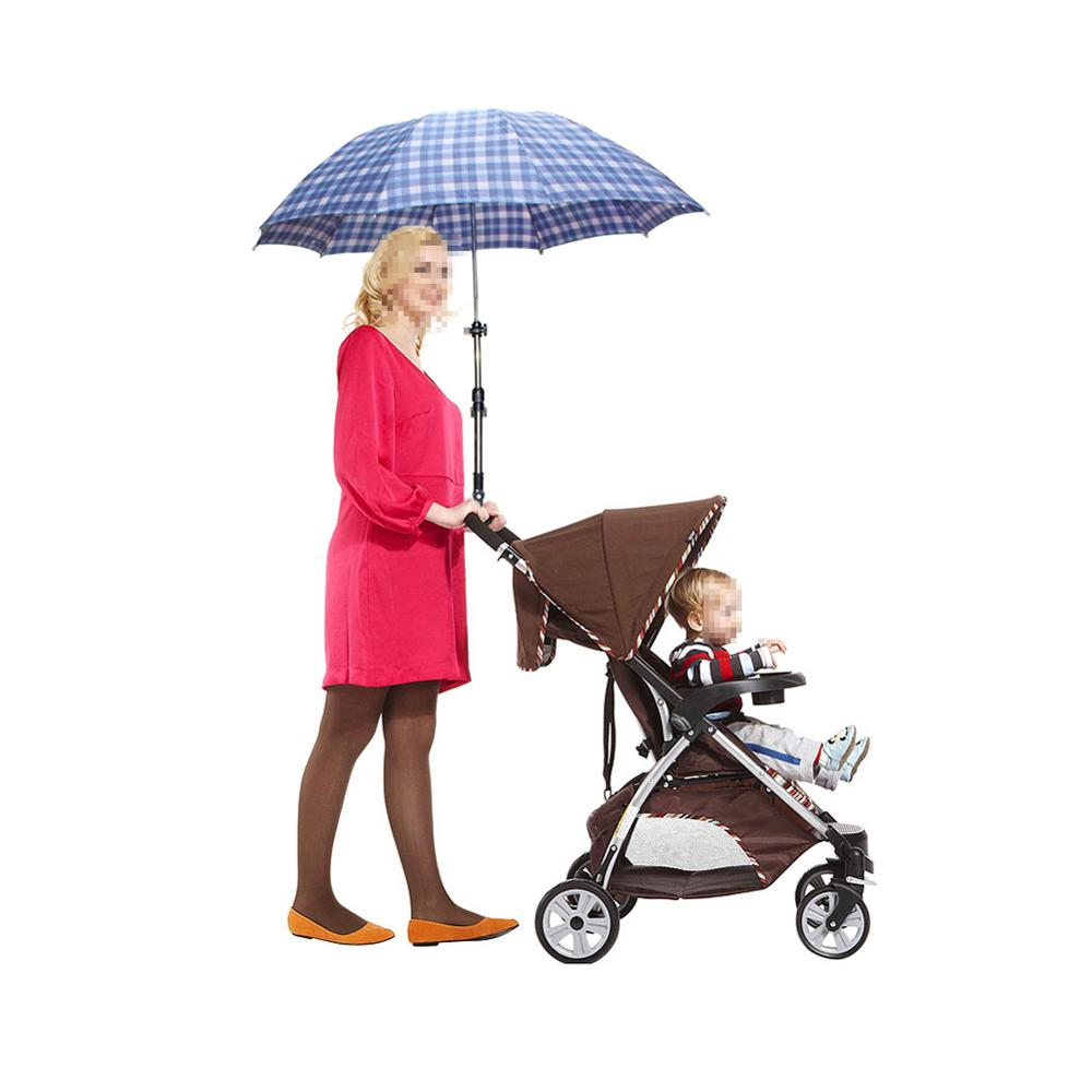 New Baby Pram Bicycle Stroller Umbrella Bar  Holder Mount Stand Handle A Baby Strollers Accessories Stroller Accessories Part Us