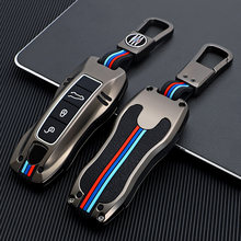 Auto Holder Shell Cover Car key case for porsche cayenne 958 911 lepin 996 macan panamera 997 944 924 987 987 gt3 cayman 987