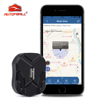 Localizador GPS MINI TK905 rastreador GPS de coche TKSTAR, 1500mah, vibrador impermeable, rastreador de vehículo, geocerca, aplicación gratuita, Monitor de voz