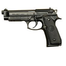 Beretta-pistola de imitación de Italia m92f, escala 1 2,05, pistola de juguete, Arma de policía, Arma de metal, placa de metal para pared, letrero de estaño de 20x30CM