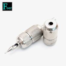 Tattoo Machine Grips Stainless Steel Self-locking Tatto Grip Cartridge Supplies 25mm Handle Tatoo Accessories