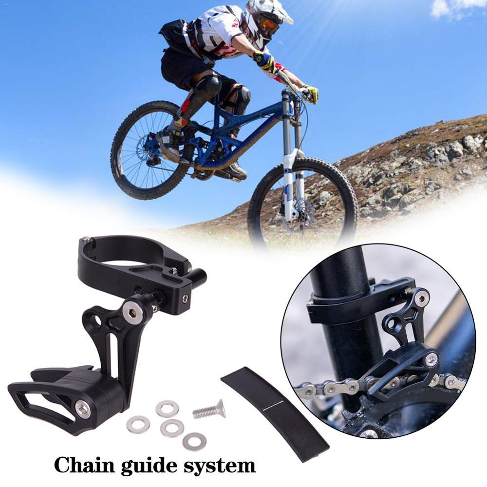 Mountain Bike Chain Guide Chain Guard Aluminum Alloy With Frame Protector|Bicycle Chain| |  - title=