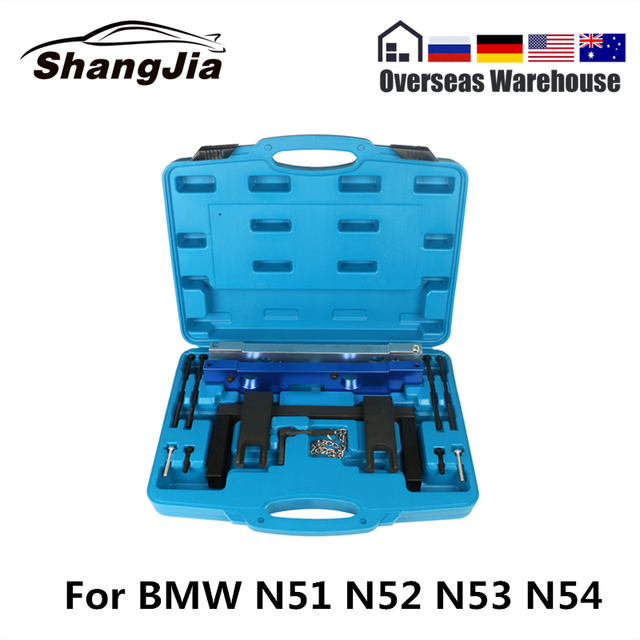 Camshaft Alignment Tool Kit For BMW N51 N52 N53 N54 Special Disassembly Tool Engine Timing Tool
