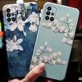 Чехлы для Samsung Galaxy A51, A71, A50, A70, A50S, A30S 2020, чехол A515 для Samsung A51, A 51, 71, 50, чехлы, чехол для телефона с 3D цветами