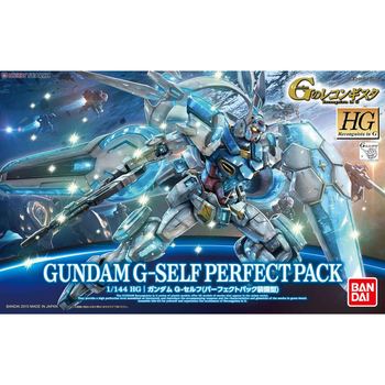 BANDAI HG 1/144 G-Self Gundam Reconguista in G Action Chart Out of Print Rare Spot Kids Assembled Toy Gifts Anime Figure 2